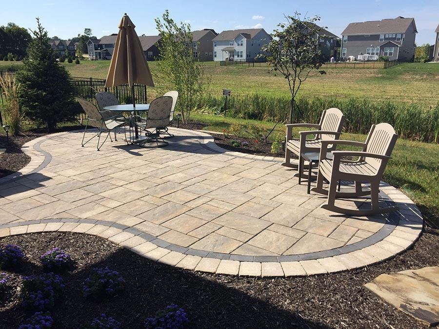 Capehart Landscape & Design Paver patio